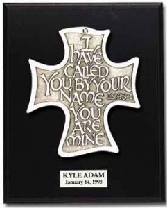 I Have Called You Cross Wall Plaque [TCG0241]