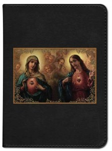 Immaculate Heart Sacred Heart Catholic Bible  [NGB015]