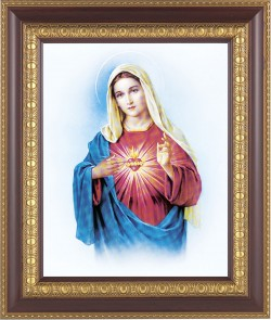 Immaculate Heart of Mary Framed Print [HFP201]