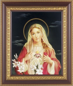 Immaculate Heart of Mary Framed Print [HFP206]