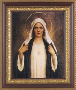 Immaculate Heart of Mary Framed Print [HFP209]