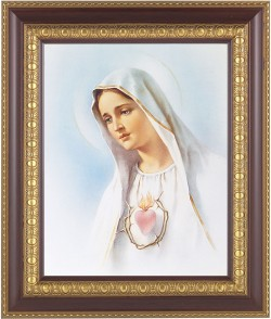 Immaculate Heart of Mary Framed Print [HFP214]