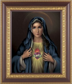 Immaculate Heart of Mary Framed Print [HFP215]