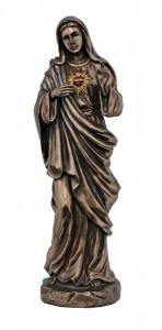 Immaculate Heart of Mary Statue,  11 Inches [GSS004]
