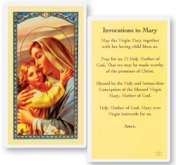 Invocation Laminated Prayer Cards 25 Pack [HPR227]
