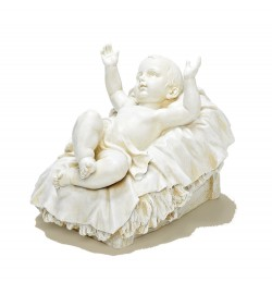 "Ivory Infant Jesus Figure for 38"" Nativity Set [RM0365]"