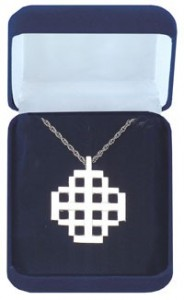 Jerusalem Cross Pendant in Sterling Silver [TCG0365]