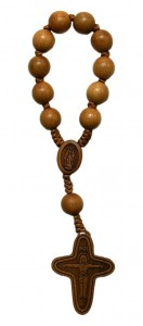 Jujube Wood 1 Decade Rosary [RB3534]