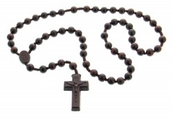 Jujube Wood 5 Decade Rosary 3 Sizes Available [RB3528]