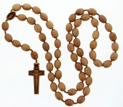 Jujube Wood 5 Decade Wall Rosary - 20mm [RB3925]