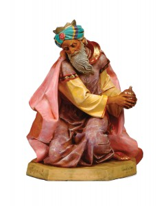King Gasper Figure for 27 inch Nativity Set [RM0117]