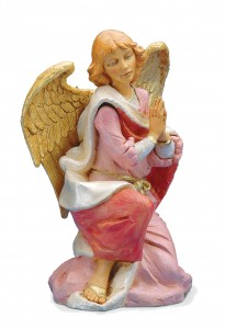 Kneeling Angel Figure for 18 inch Nativity Set [RM0099]