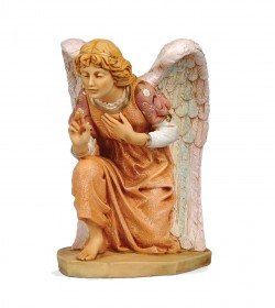 Kneeling Angel Figure for 27 inch Nativity Set [RM0120]
