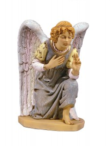 Kneeling Angel Figure for 27 inch Nativity Set [RM0122]