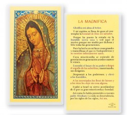 La Magnifica Virgin Guadalupe Laminated Spanish Prayer Cards 25 Pack [HPRS874]