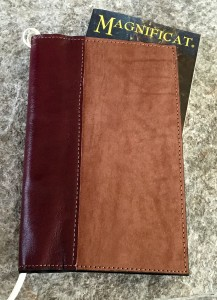 Large Deluxe Magnificat Magazine Leather Cover [DSC0002]