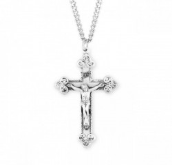 Large Men's Crucifix with Scroll Leaf Tips [HMM3304]