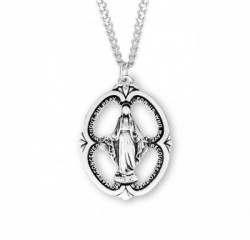 Large Open-Cut Oval Miraculous Medal [HMM3189]