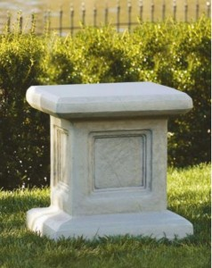 Large Square Church Size Pedestal  [MSA3008]