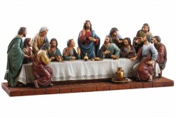 Last Supper 15 Inch Wide Statue [CBST017]