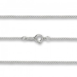 Lite Curb Chain Sterling Silver, Gold Filled, 14K Options [BLCH0002]