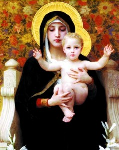 Madonna & Child Print - Sold in 3 per pack [HFA1135]