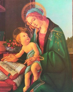 Madonna & Child Print - Sold in 3 per pack [HFA1160]