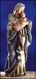 Madonna and Child Statue - 23.25 Inch High [MIL1043]