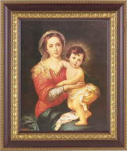Madonna and Toddler Jesus Framed Print [HFP248]