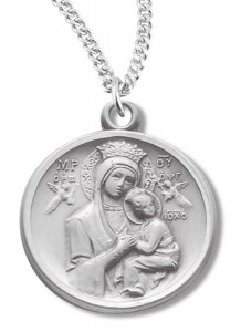 Our Lady of Perpetual Help Sterling Silver [REM2102]