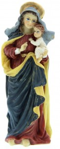 "Madonna and Child Statue 3.5"" [RM50276]"