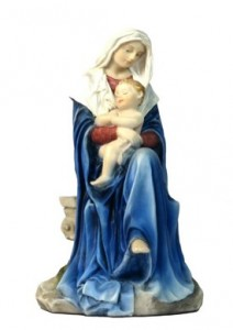 Madonna and Child Statue - 6 Inches [GSCH1048]