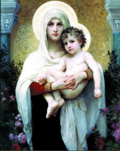 Madonna of the Roses Print - Sold in 3 per pack [HFA1140]
