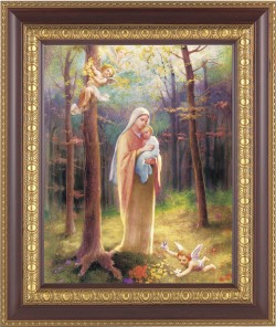 Madonna of the Woods Framed Print [HFP266]