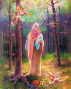 Madonna of the Woods Print - Sold in 3 per pack [HFA1139]
