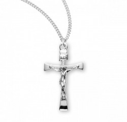 Maltese Crucifix Necklace with High Polish Finish [HMM3322]