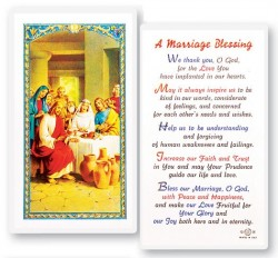 Marriage Blessing Laminated Prayer Cards 25 Pack Hpr715