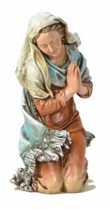 "Mary Figurine for Holy Family Nativity 27"" Scale [RM0368M]"