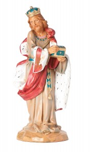 "Melchior Wise Man Nativity Statue - 12"" scale [RMCH022]"