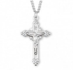 Men's Byzantine Style Crucifix Necklace [HMM3309]
