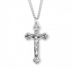 Men's Crucifix Necklace with Antique Finish [HMM3276]