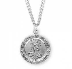 Men's Defend Us in Battle Saint Michael Medal [HMM3002]
