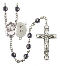 Men's St. John Paul II Silver Plated Rosary [RBENM8234]