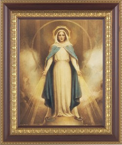 Miraculous Mary Framed Print [HFP236]