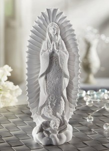 Modern Our Lady of Guadalupe 8.5 Inch High Statue [CBST016]