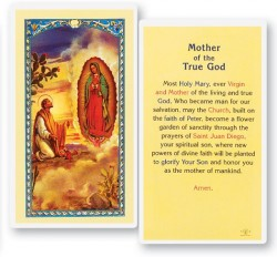 Mother of True God Laminated Prayer Cards 25 Pack [HPR219]