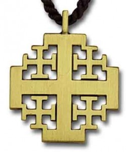 New Jerusalem Cross Pendant [TCG0366]