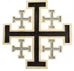 New Jerusalem Wall Cross [TCG0104]