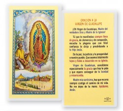 Oracion A La Virgen Guadalupe Laminated Spanish Prayer Cards 25 Pack [HPRS219]