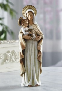 Our Lady of the Blessed Sacrament 8 Inches High Statue [CBST002]